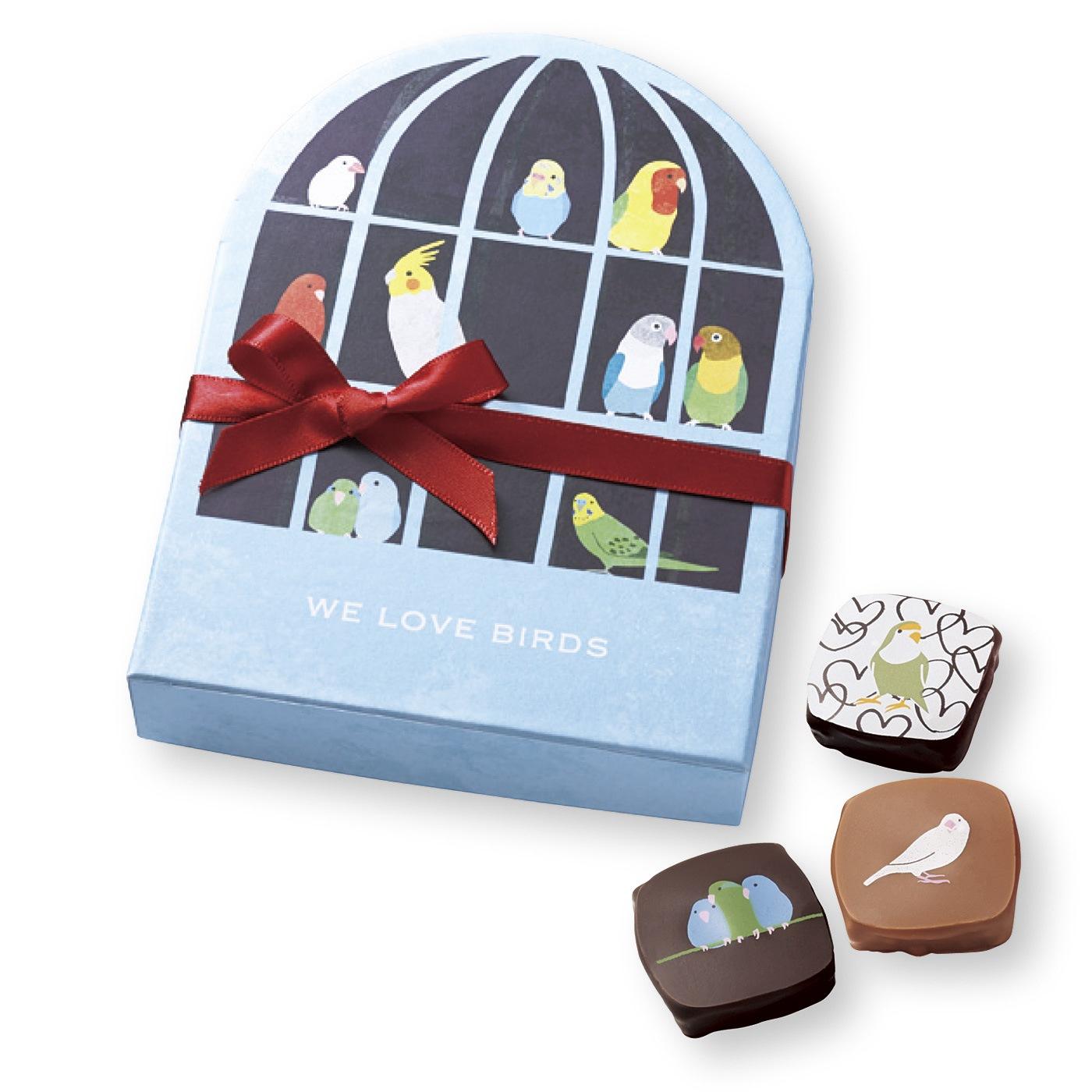 【ホワイトデイお届け】ショコラティエ ヤン・プロット 小鳥チョコ