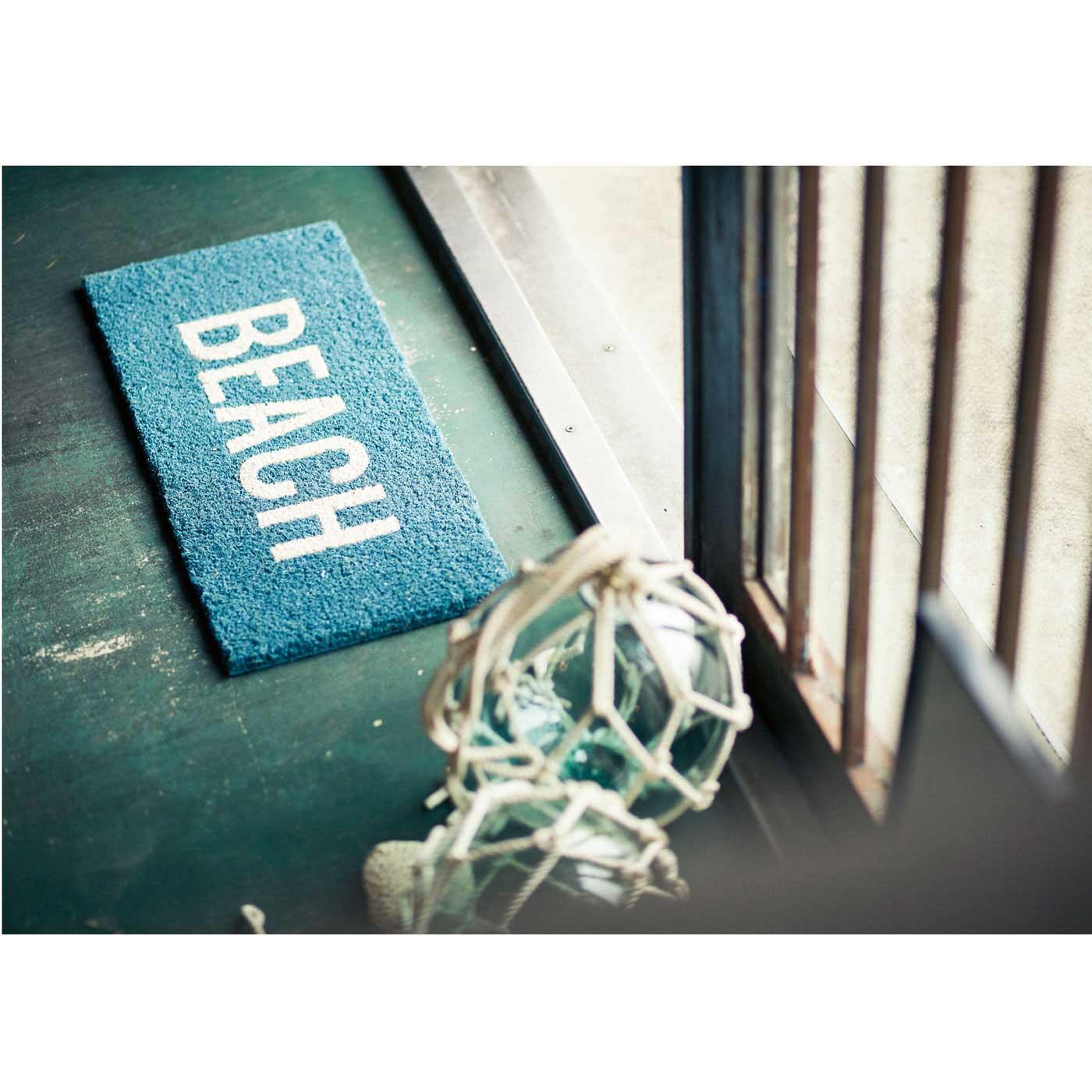 フェリシモ 玄関マット〈BEACH〉