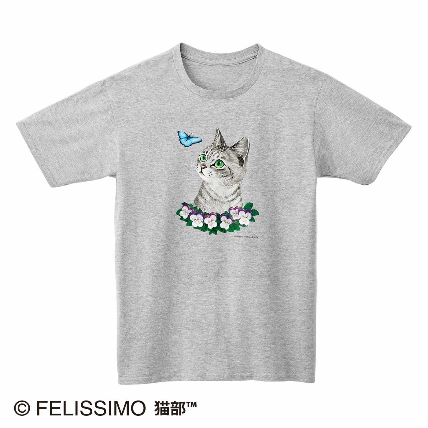 霜田有沙×猫部 地域猫チャリティーTシャツ2021