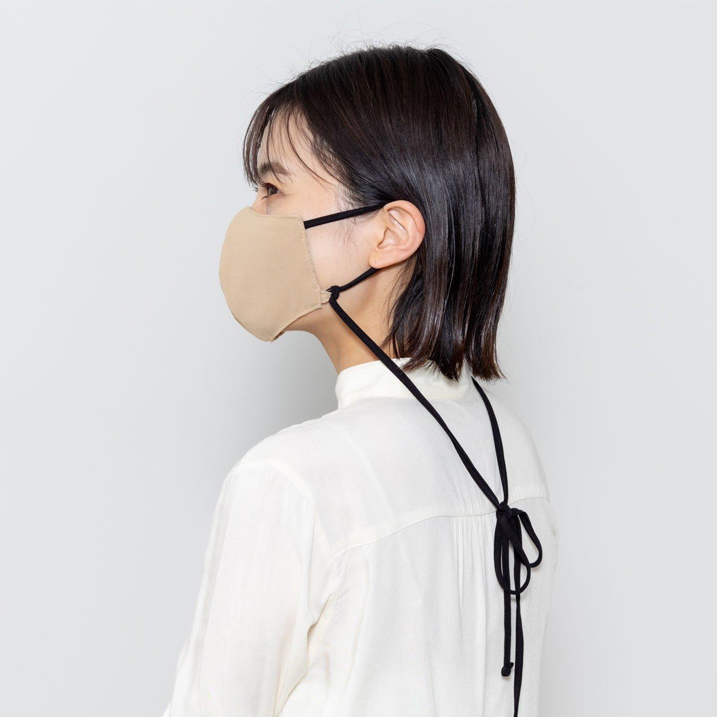 UP.de マスクストラップ使いができる ロングリボンマスク(ケース付き)の会