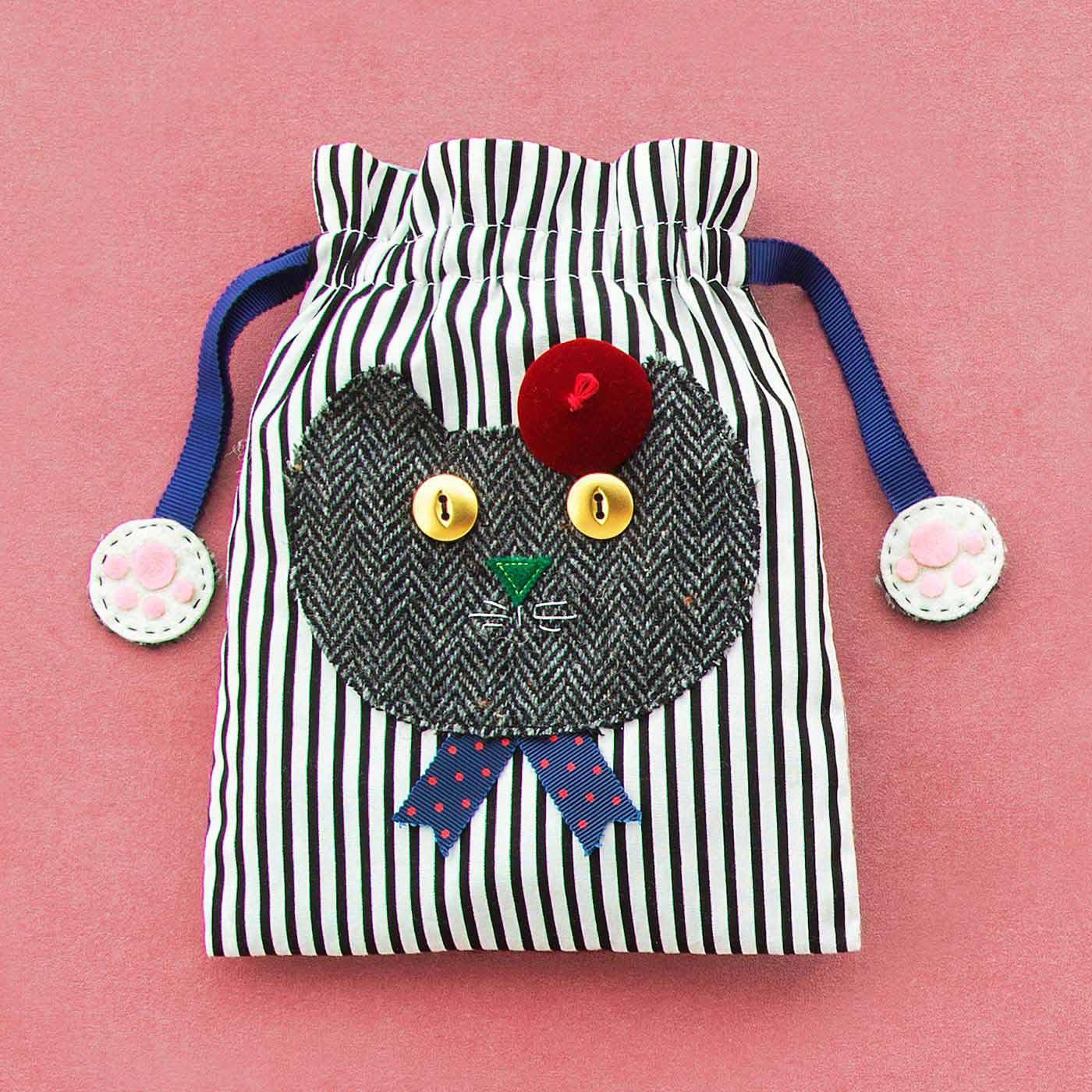 いつも一緒にいたいニャ 自分で作ってみたいポップな猫ちゃんの布小物の会