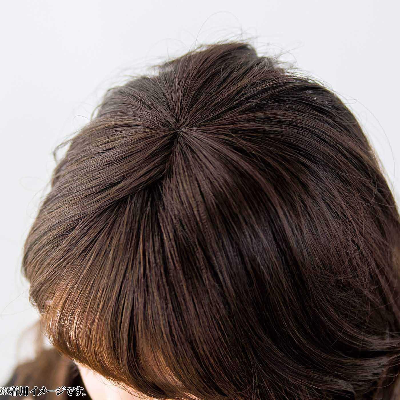 これは参考画像です。After つむじをカバーでマイナス5歳印象。伸びかけの白髪も隠せます。