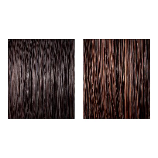 髪の色を多色違いにすることでリアル感とつや感がアップ。地毛になじみやすく、自然な仕上がりに。