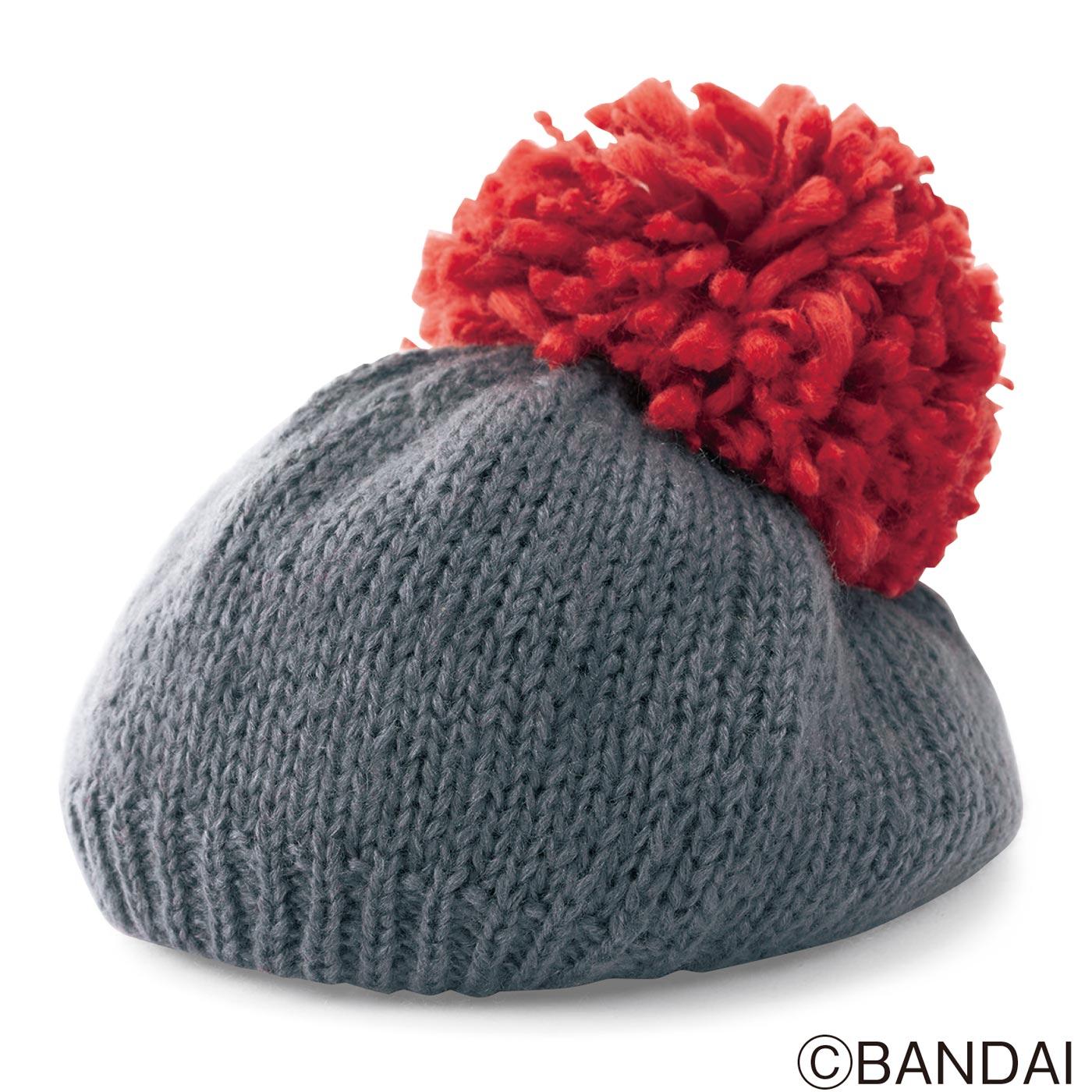 くまのがっこう ラズベリーのニット帽