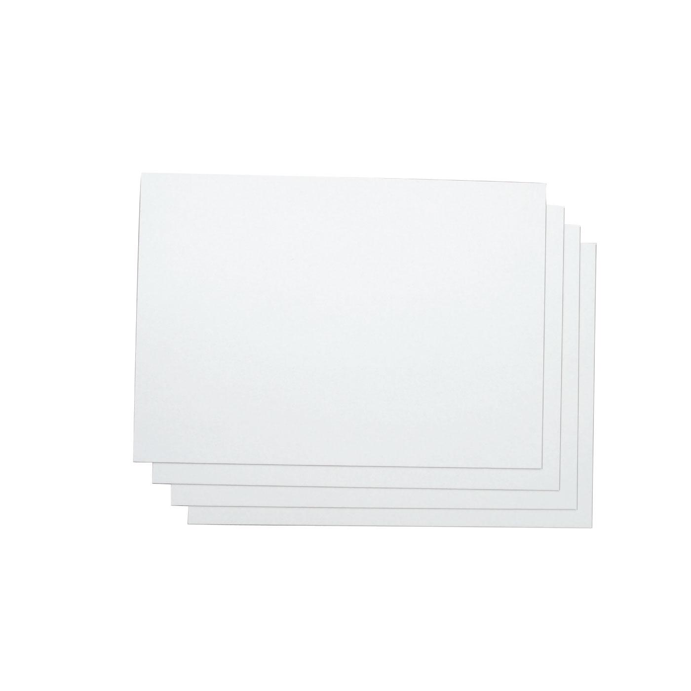 布張りBOXを丈夫に仕上げるために必要な台紙にぴったりの厚紙4枚もセット。