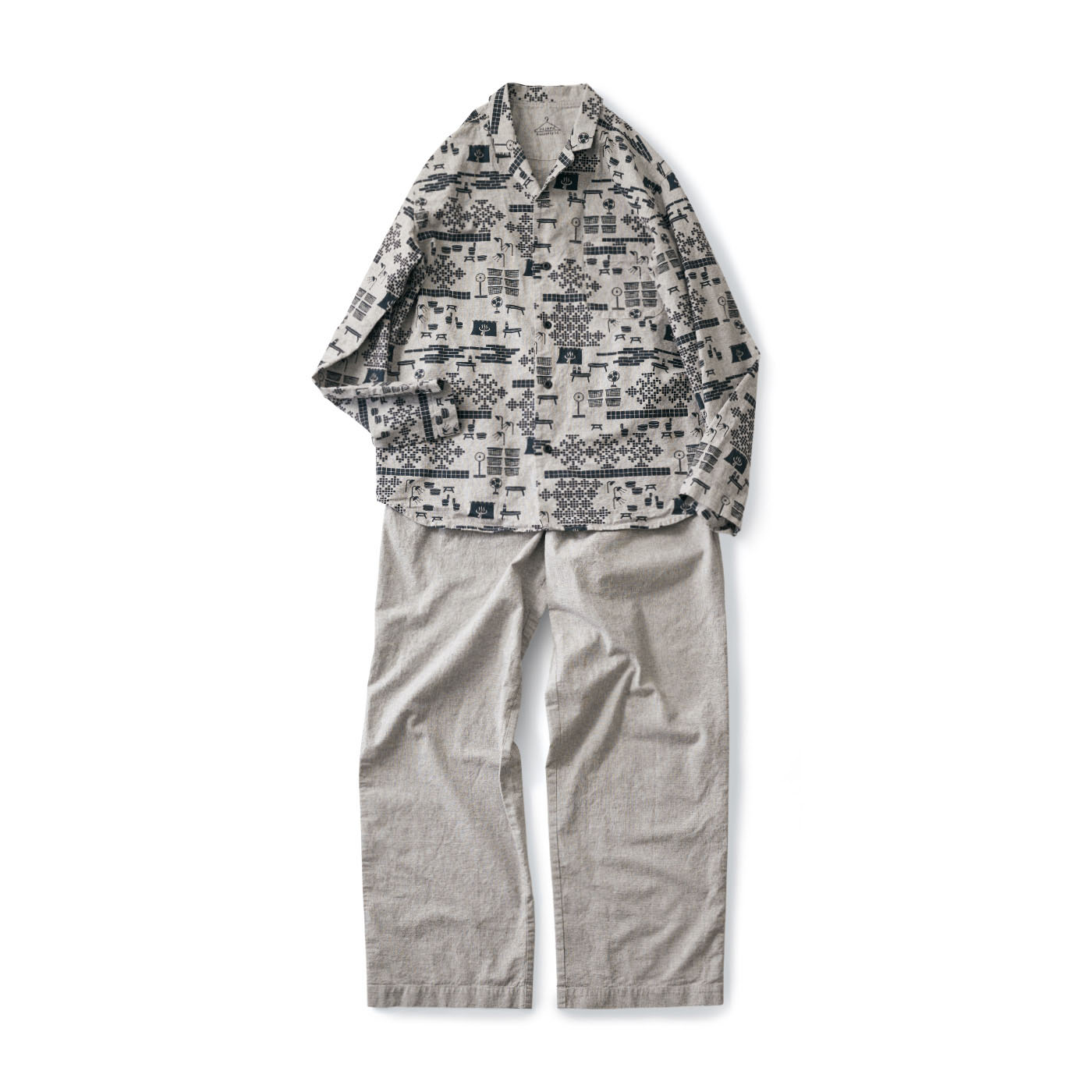 サニークラウズ 湯上りパジャマ〈メンズ〉