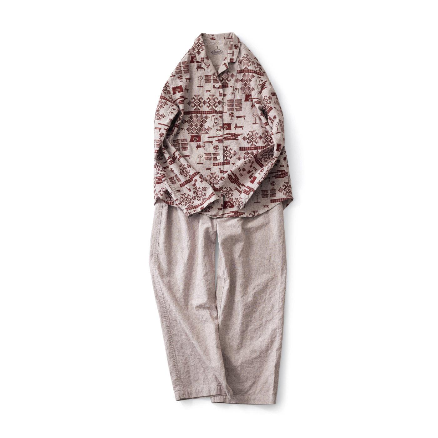 サニークラウズ 湯上りパジャマ〈レディース〉
