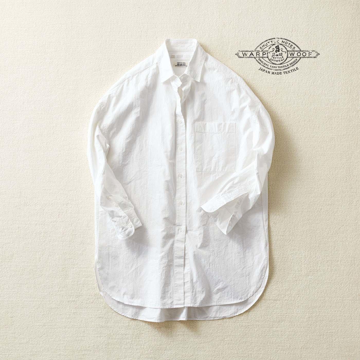 サニークラウズ feat. Shuttle Notes  十八番のワンピシャツ〈レディース〉