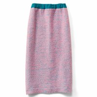フェリシモ つぶつぶツイードのオトナめタイトスカート
