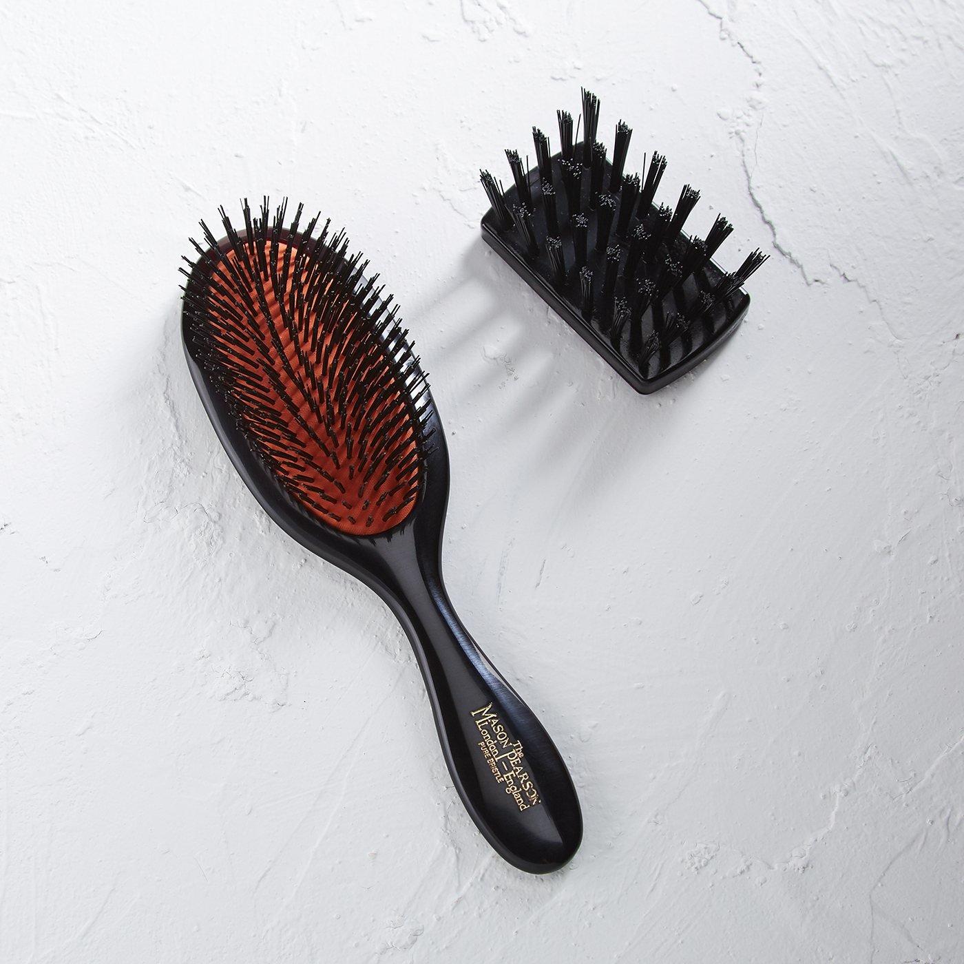 MASON PEARSON ヘアブラシ ハンディブリッスル〈標準的な猪毛/ふつうの髪用〉
