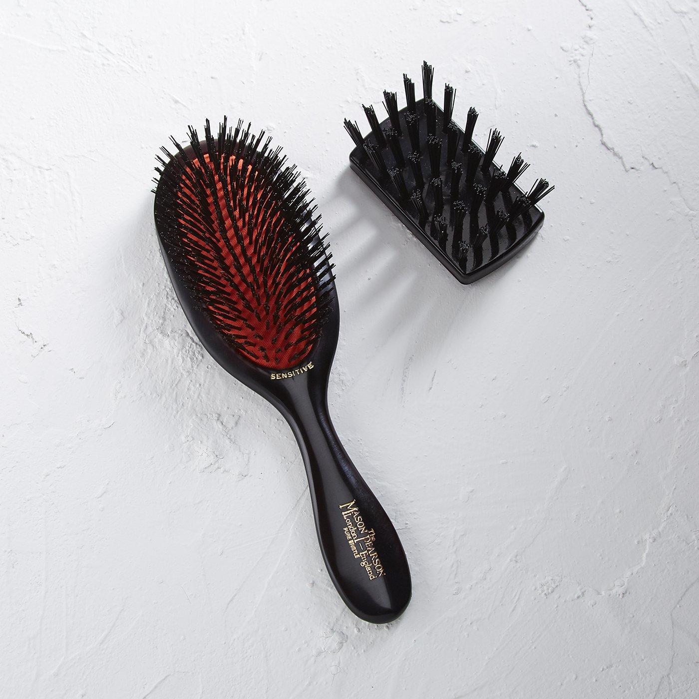 MASON PEARSON ヘアブラシ センシティブブリッスル〈やわらかい猪毛/少ない髪用〉