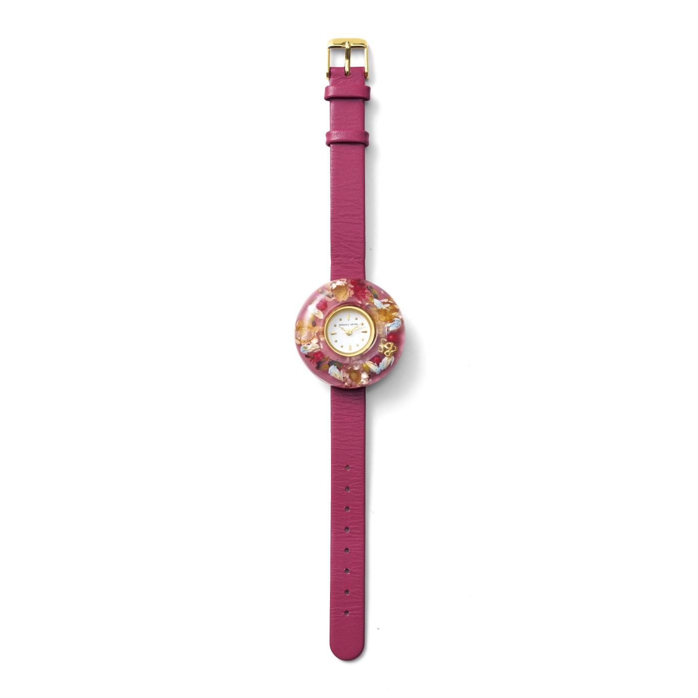 花束みたいな腕時計 (1 ピンク)