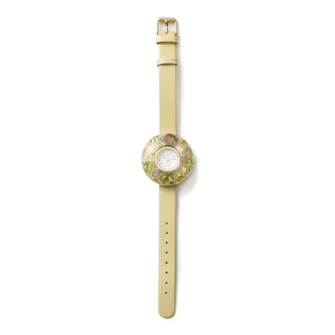 花束みたいな腕時計 (2 イエロー)