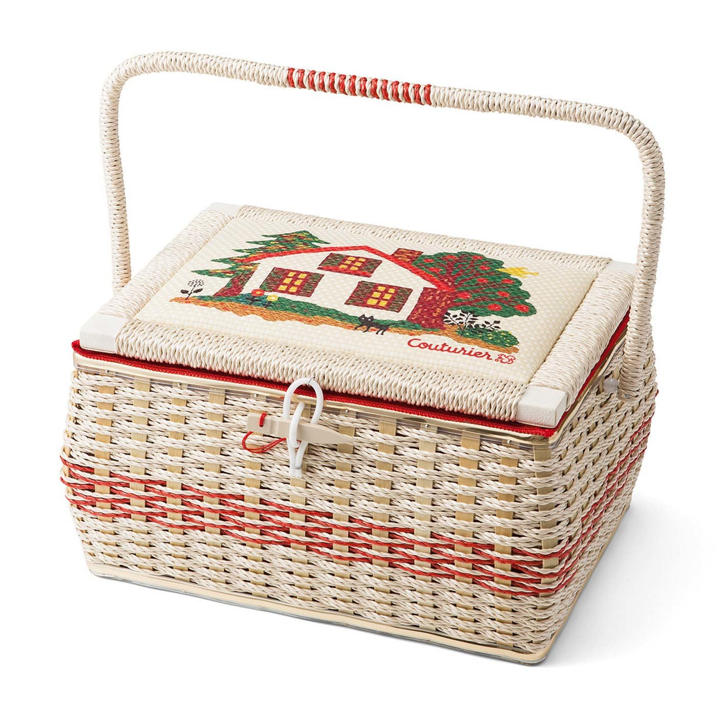 【ウェブ限定】大切に使い続けたい 職人さんの手づくり クチュリエのお裁縫箱