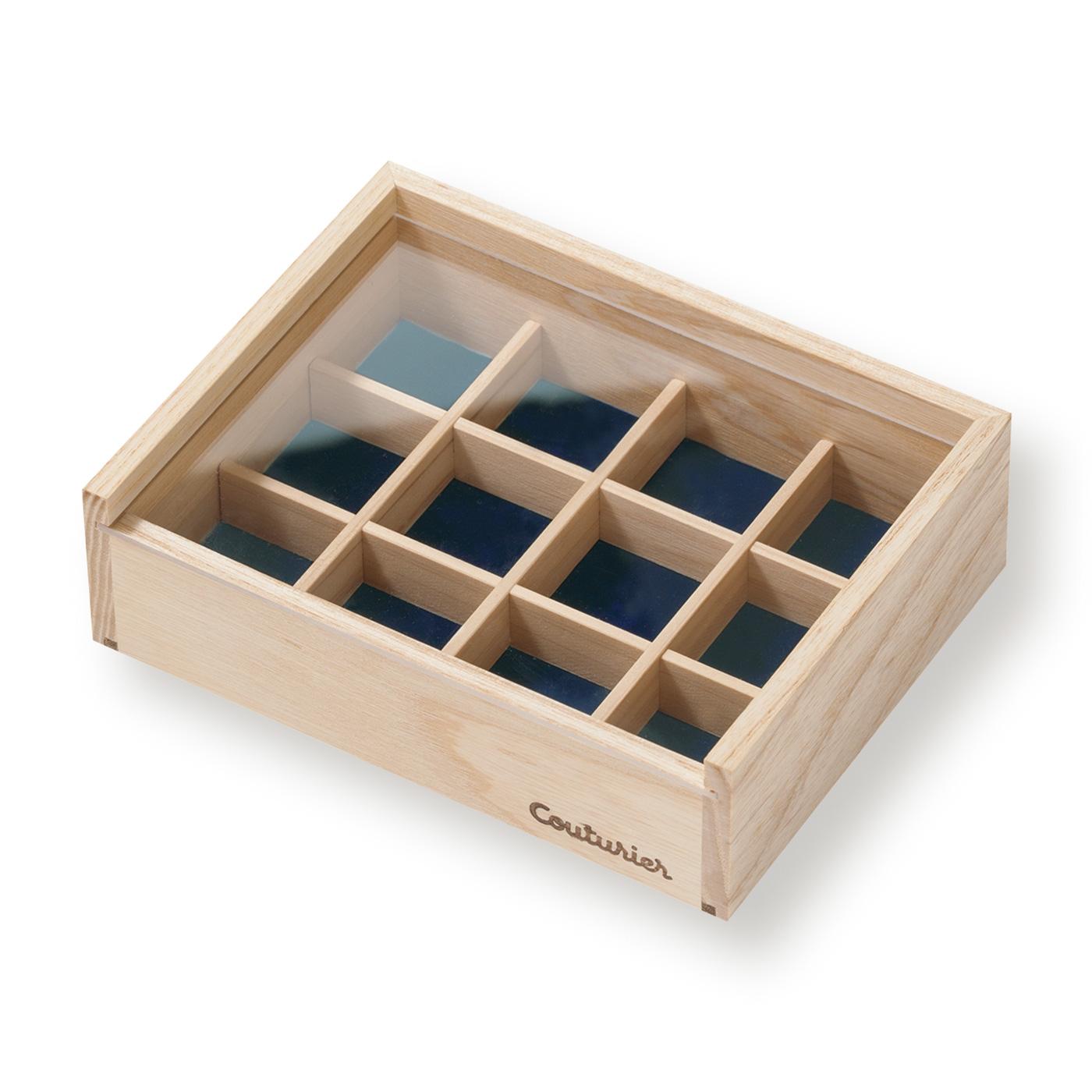 フェリシモ 作品をさらに美しく 無垢材仕上げのコレクション木箱