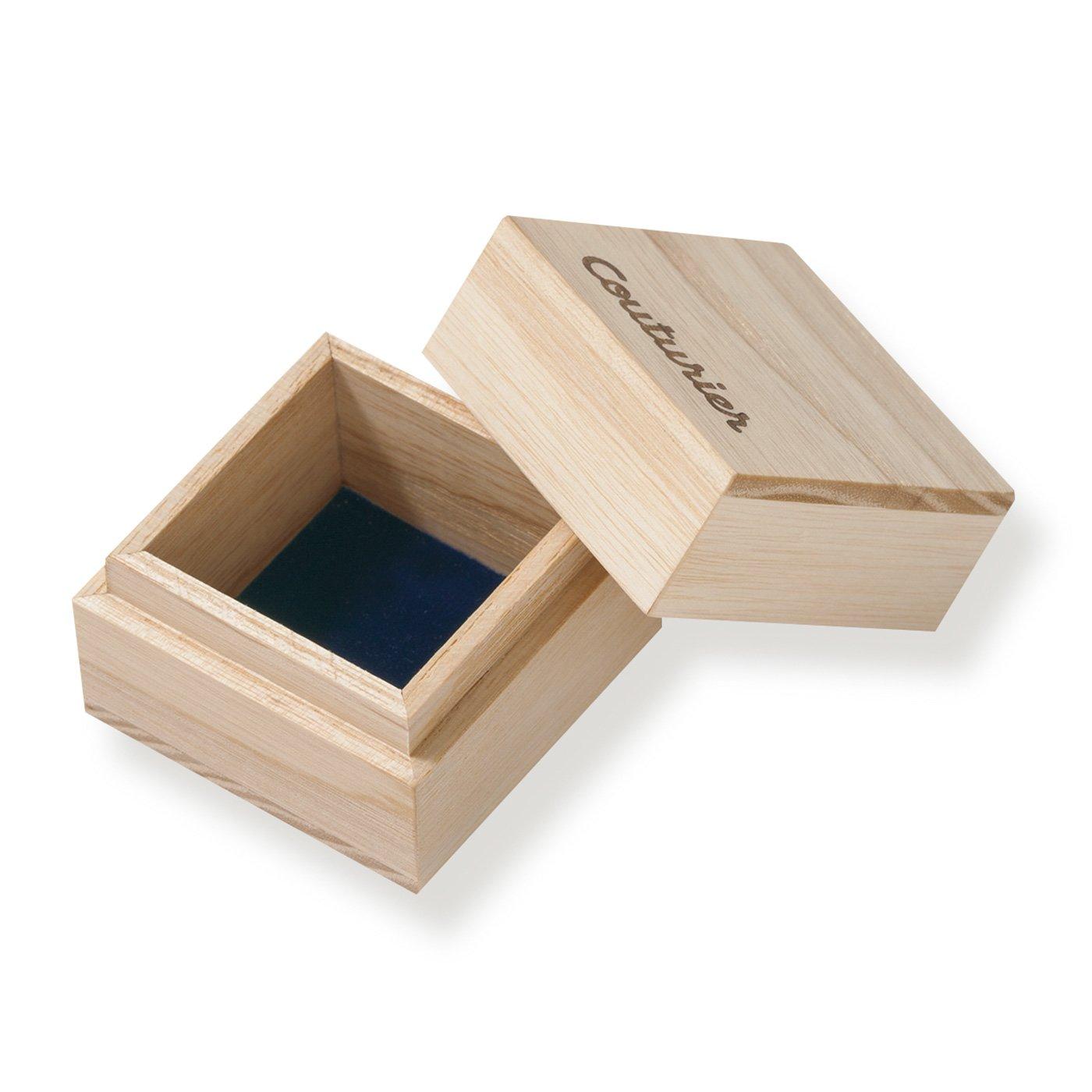 作品をさらに美しく 無垢材仕上げのちいさな木箱
