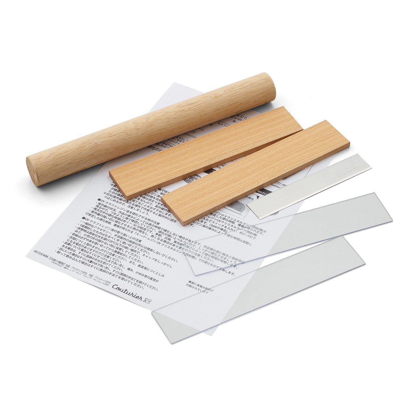 樹脂粘土作りがもっと楽しくなる 便利なツールセット