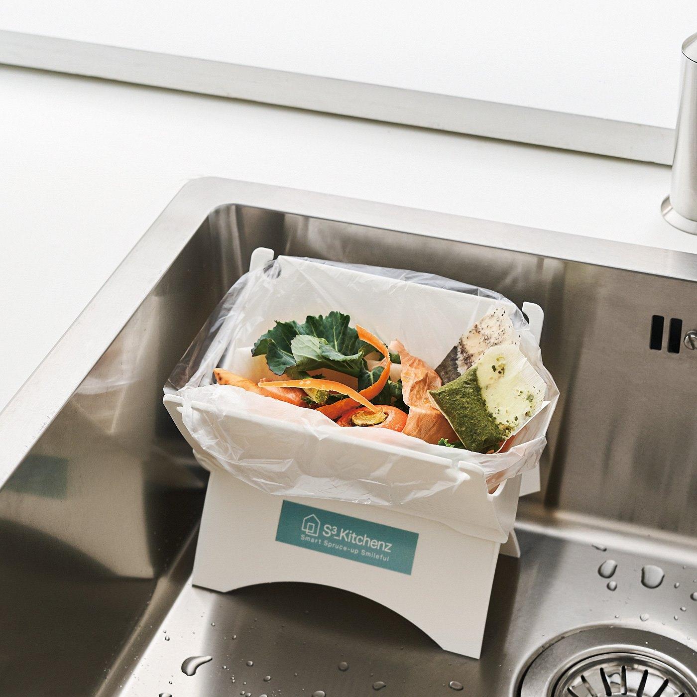 挟んでしぼって生ゴミ減量! キッチン水きりの会