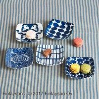 フェリシモ【定期便】新規購入キャンペーン アフィリエイトプログラムフェリシモ Finlayson フィンレイソン 藍色美しい5種類の角皿セット