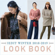 IEDIT WINTER 2018-2019 LOOK BOOK
