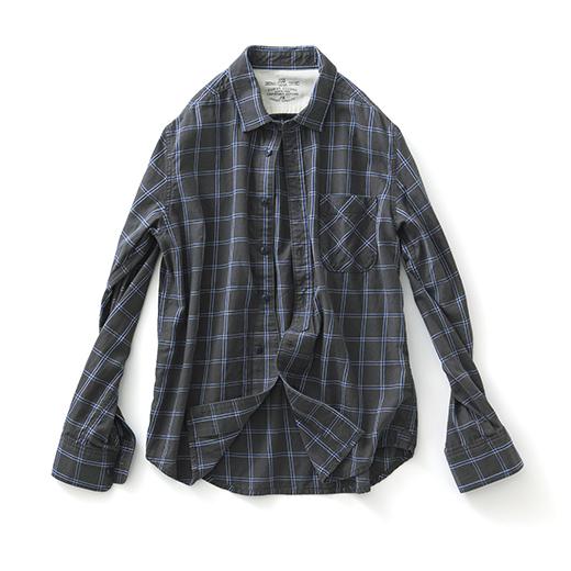 フェリシモ サニークラウズ 気さくなチェックシャツ〈メンズ〉C