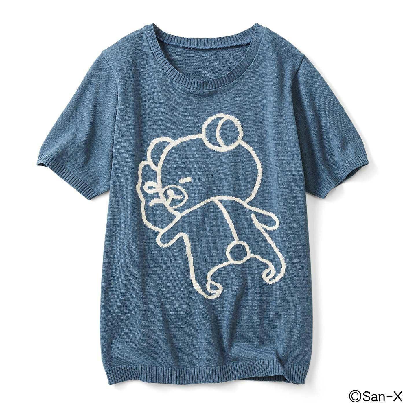 だら~んリラックマ ニットTシャツ