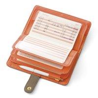 フェリシモ 家計簿不要! 通帳記入で家計管理 開いたまま収納できる通帳ケースの会