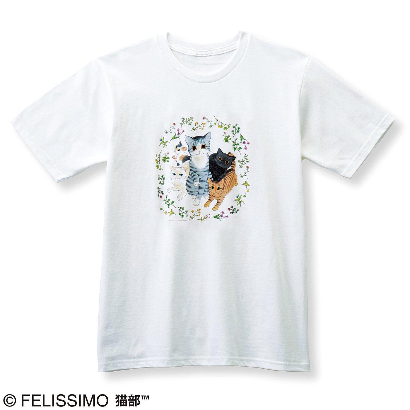 猫部×山野りんりん 地域猫チャリティーTシャツ2019