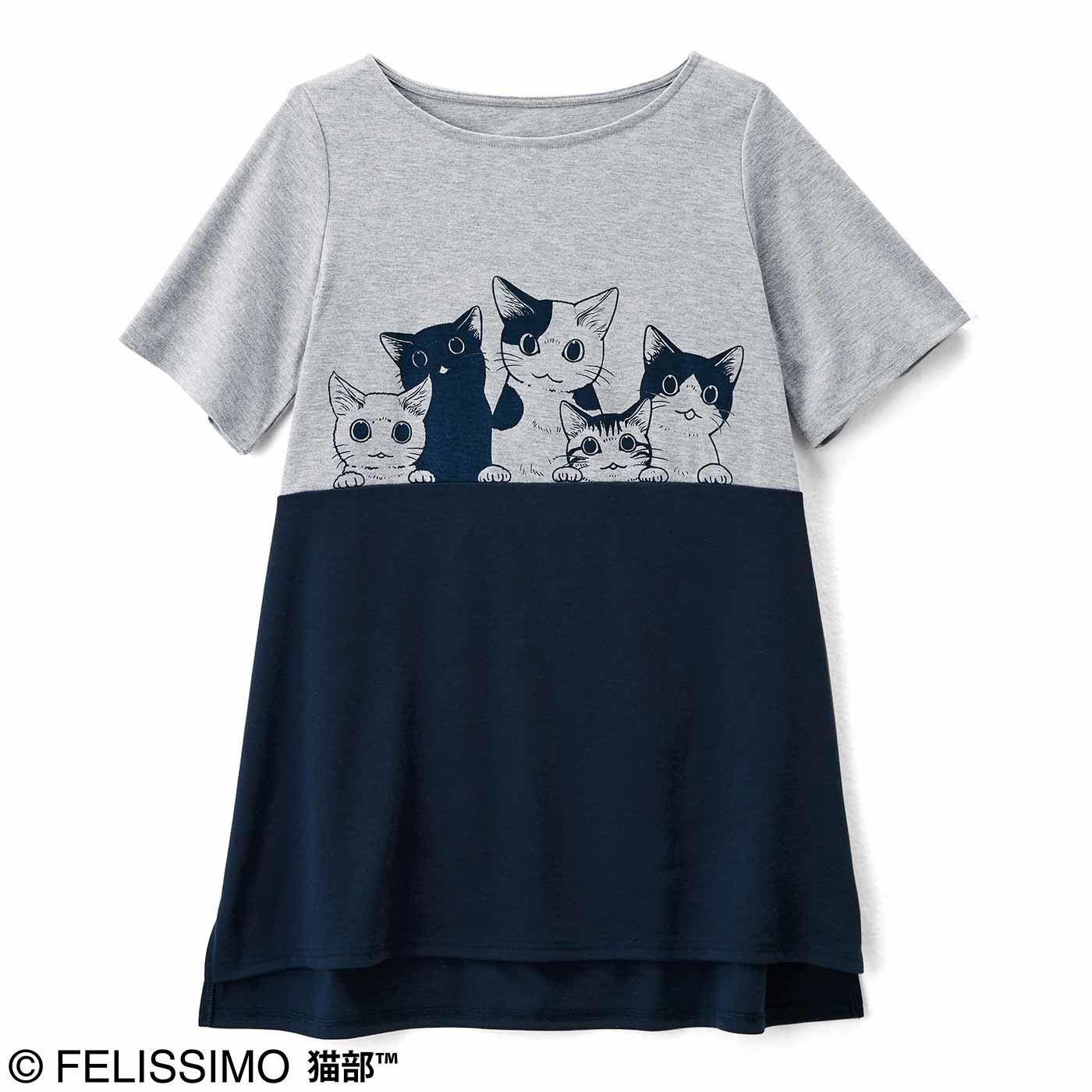 漫画家山野りんりんさんとつくった ラインで猫が遊ぶ 猫好き猛アピールチュニックの会