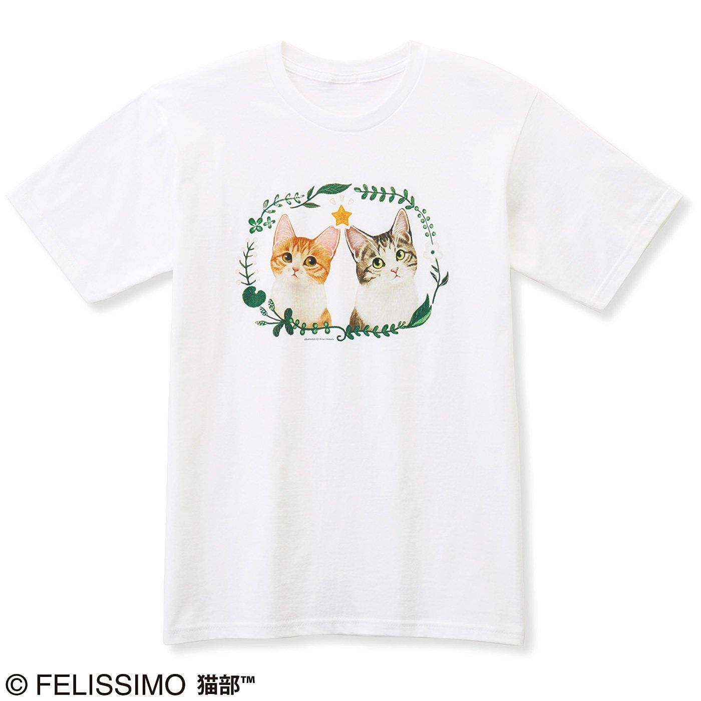 猫部×霜田有沙 地域猫チャリティーTシャツ2019