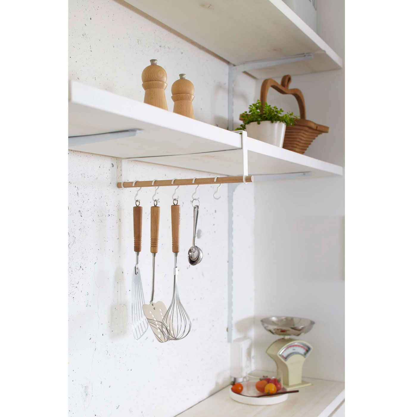 キッチンツールは届く位置にあるのが時短のポイント