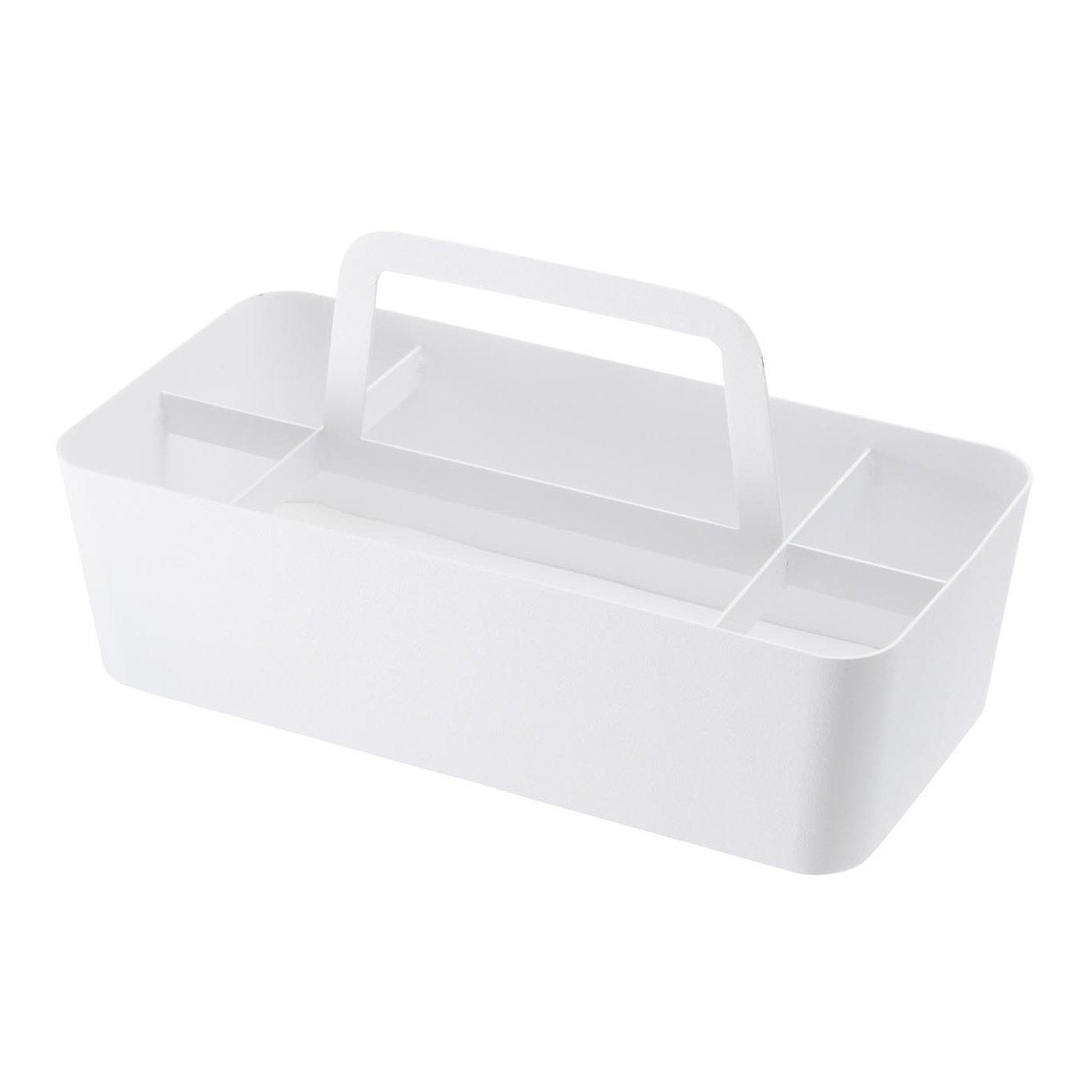 小物をらくらく持ち運べる持ち手付きツールボックス