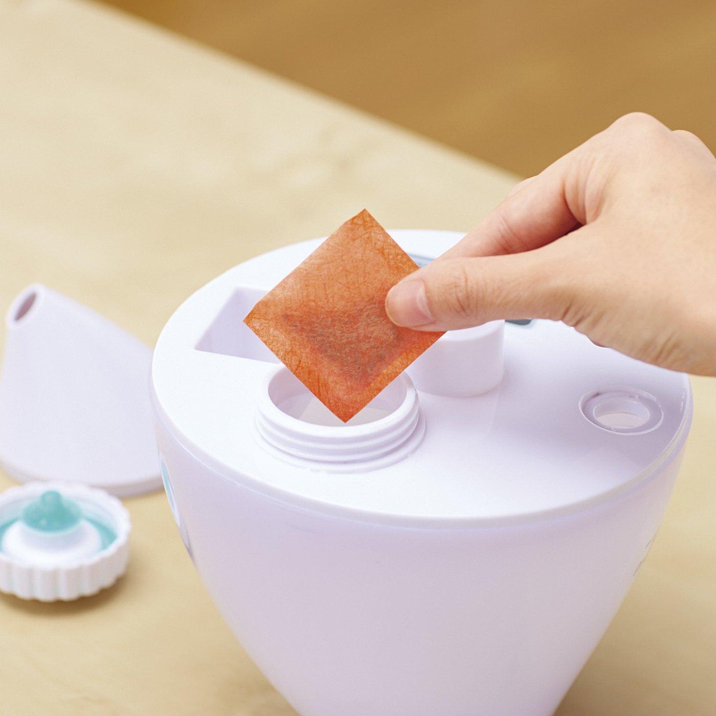 加湿器のぬめりやにおいを防いでくれる ポンッと入れっぱなしヨウ素除菌剤〈ミニサイズ〉の会