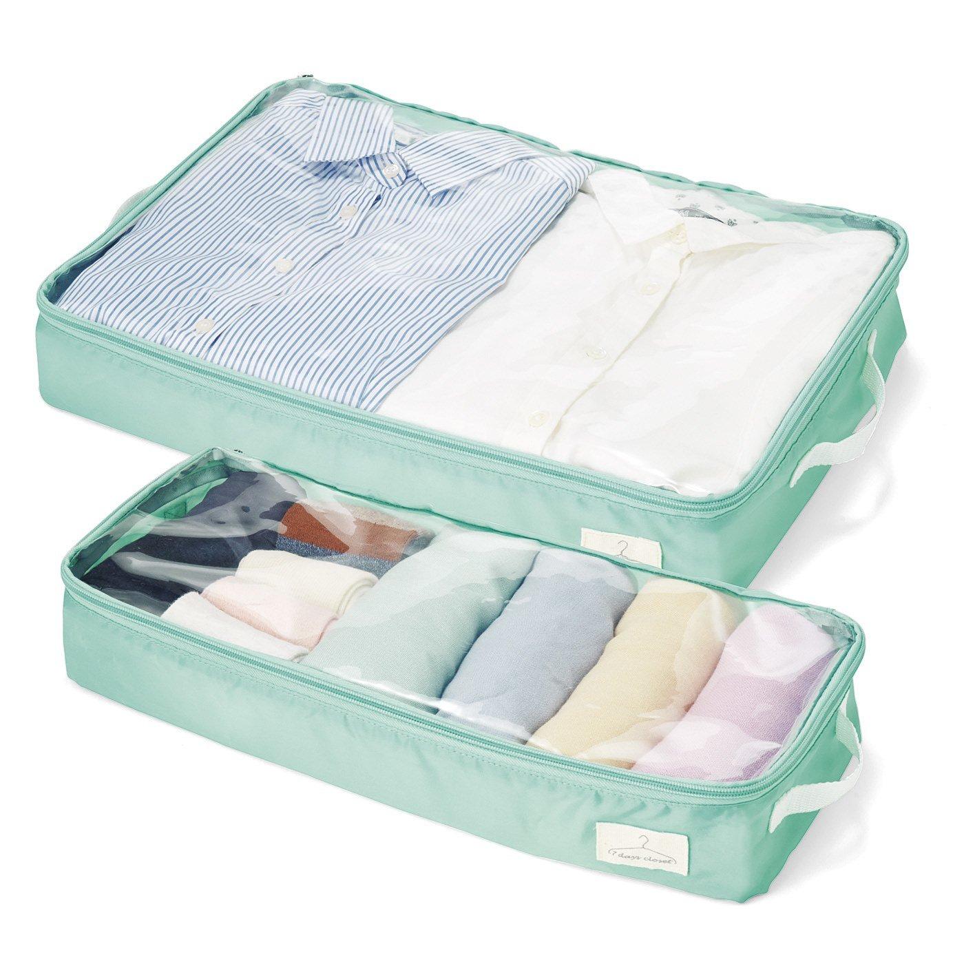 服や小物をすっきり収納&保管できるインナーケースセット〈大・小〉