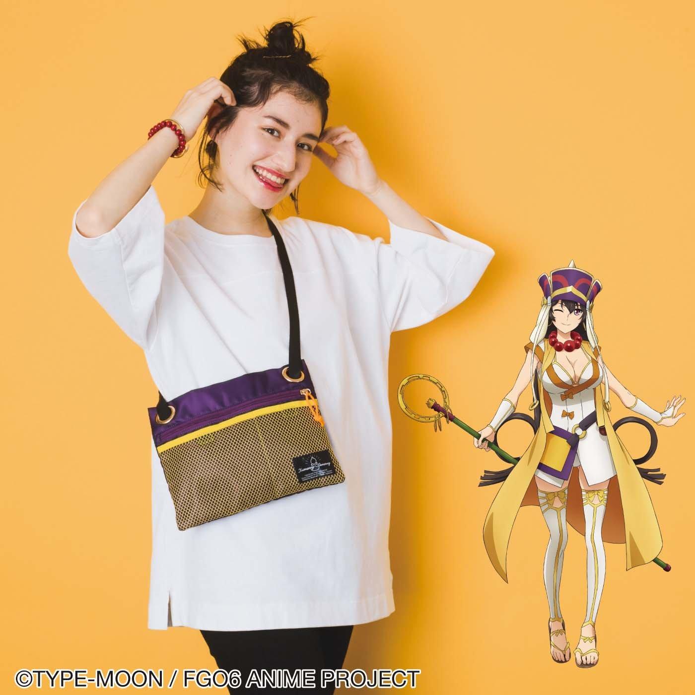 劇場版Fate/Grand Order-神聖円卓領域キャメロット- 玄奘三蔵 衣装風サコッシュ
