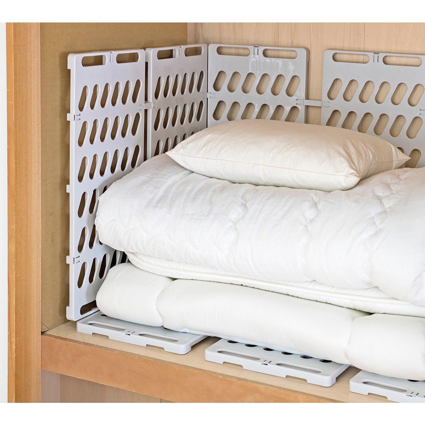 押入れの湿気・かび対策に 壁面にも設置できる樹脂製すのこの会