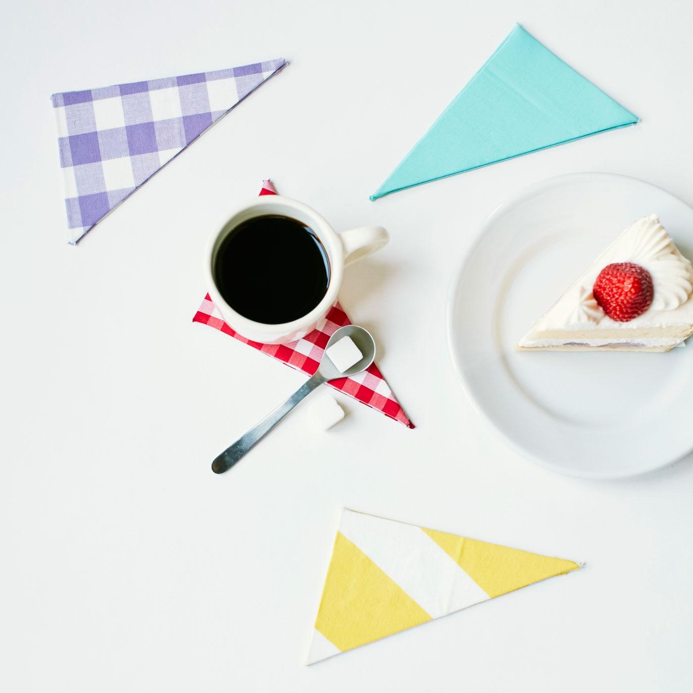 <例えばこんなことが身に付きます>牛乳パックで作る「ケーキ型コースター」