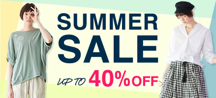 Live in comfort SUMMER SALE! UP TO 40%OFF!