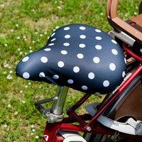 フェリシモ【定期便】新規購入キャンペーン アフィリエイトプログラムフェリシモ 大型サドルにも対応 自転車サドルカバー ドット