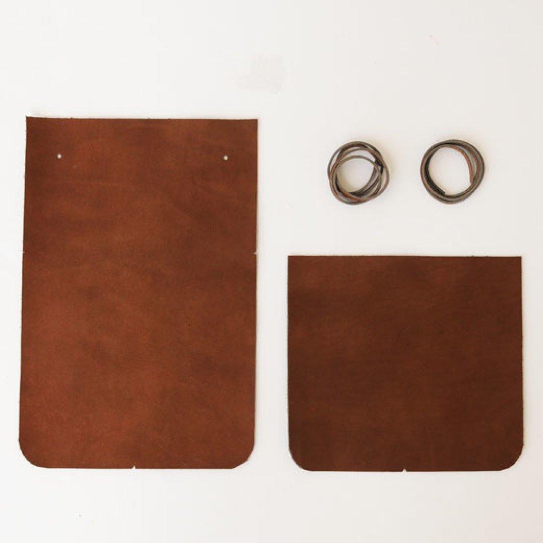 鞄作りレッスン 追加購入用 サイド革パーツセット