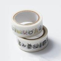 フェリシモ お寺文化を楽しく学ぶ 絵心経マスキングテープセット