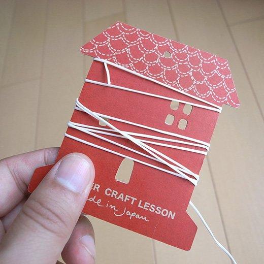 オリジナルクラフトを楽しもう! 業務用 縫い糸20m(オフホワイト)の会