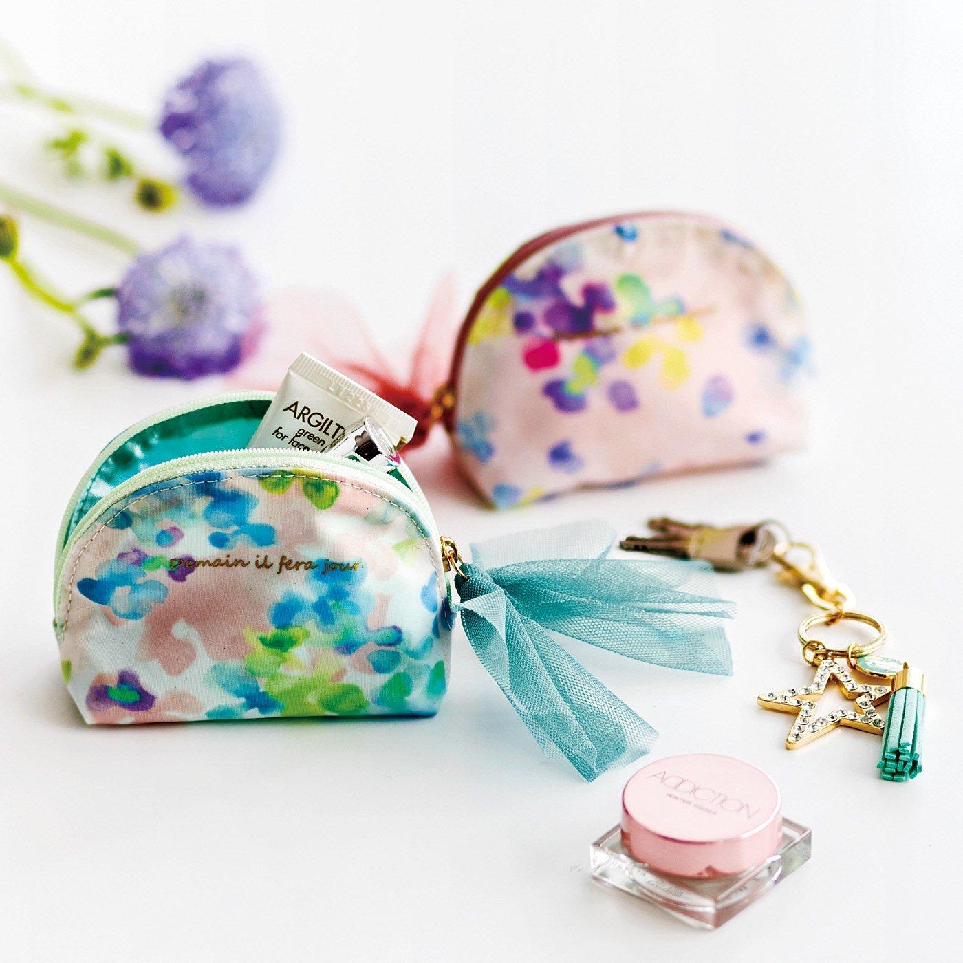 バッグの中の小さな宝石 シェル形の手のりポーチの会