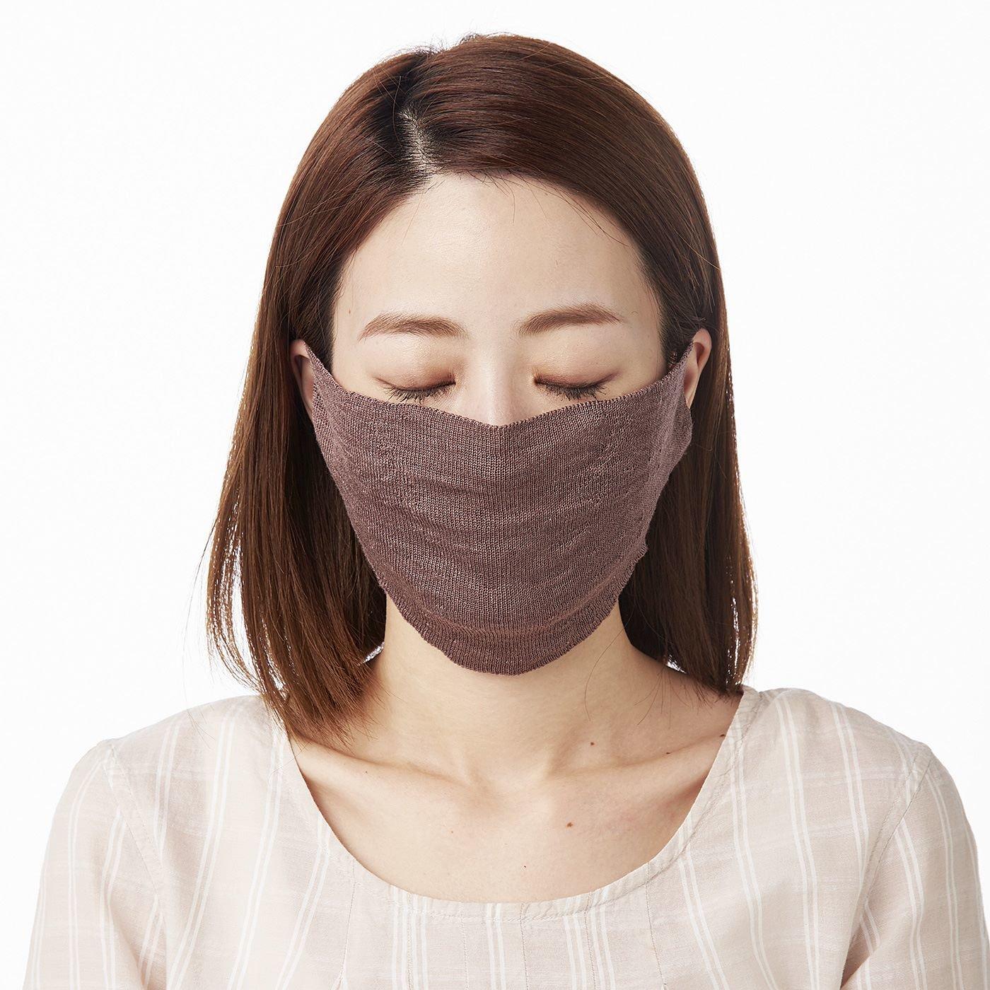 絹でいたわるうるおい呼吸 ホールガーメント(R)マスクの会