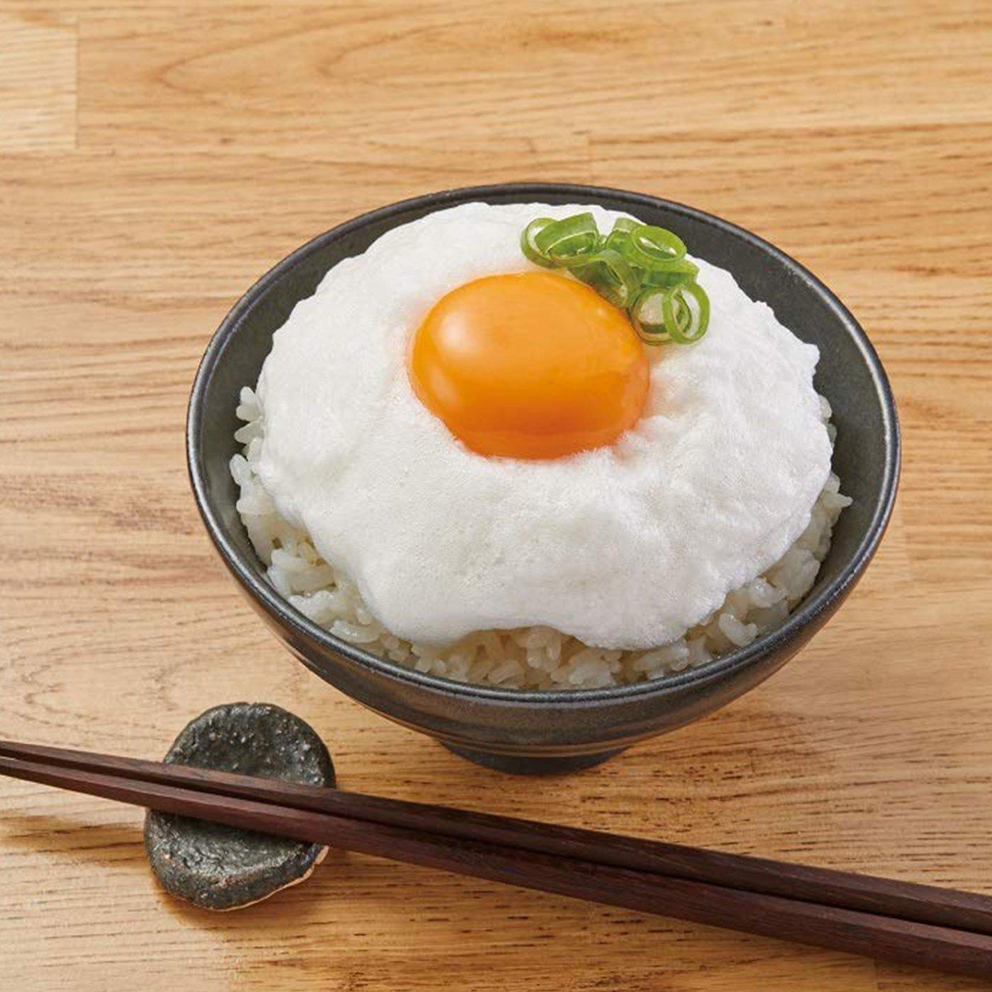 卵料理がおいしくなる!たまごかけご飯&レンジふわふわ卵焼きセット