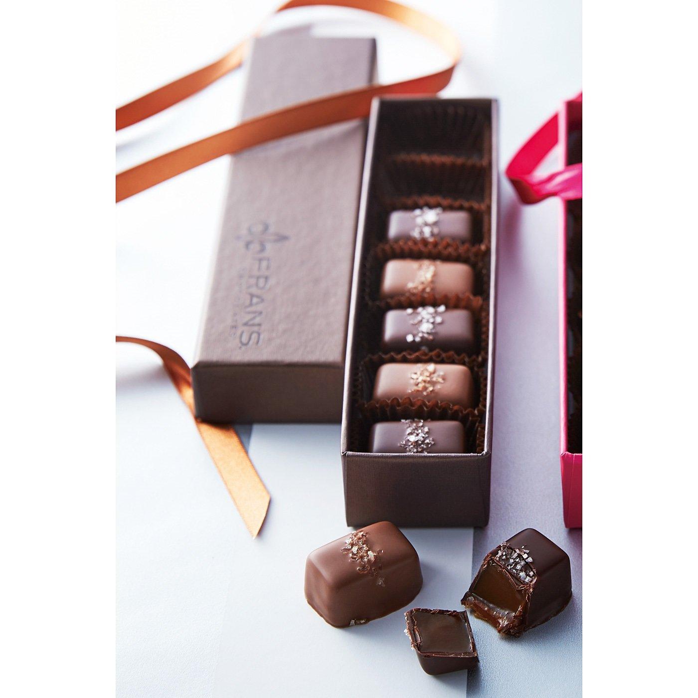 【ホワイトデイお届け】ミセス フランズ チョコレート ソルトキャラメル