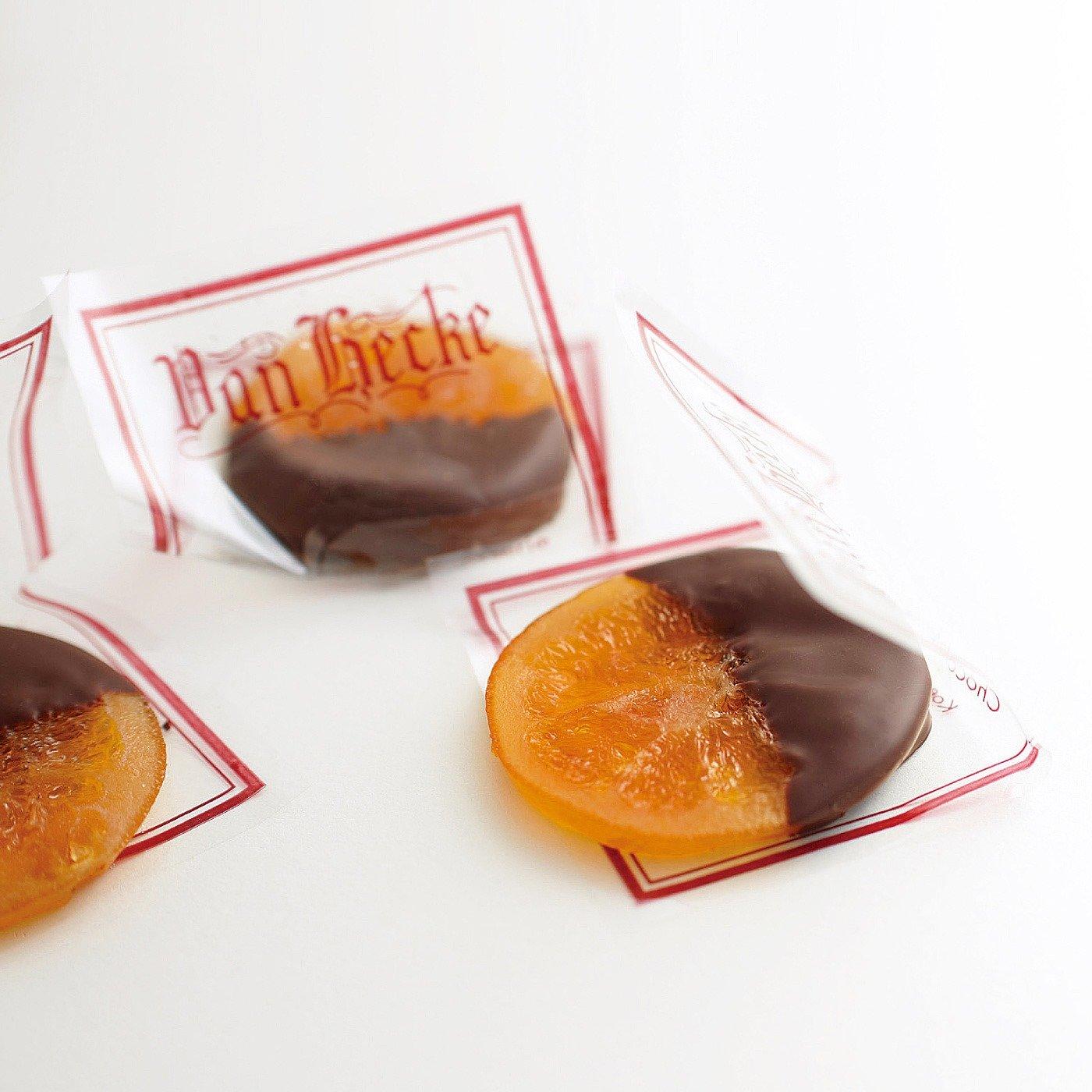 【ホワイトデイお届け】バン ヘッケ オレンジピールチョコ