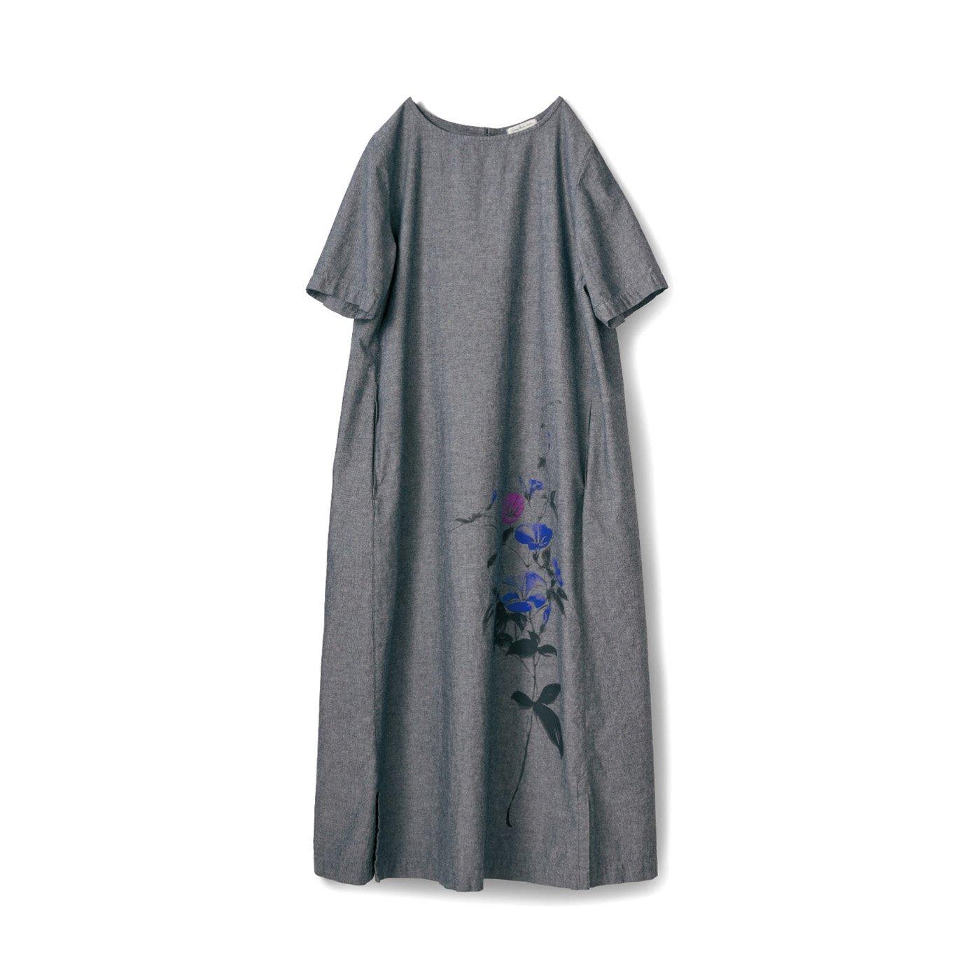 サニークラウズ 朝顔の花ワンピース〈レディース〉