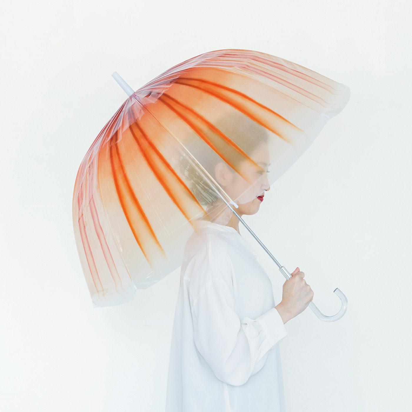 YOU+MORE! 雨空を泳ぐ アカクラゲの傘