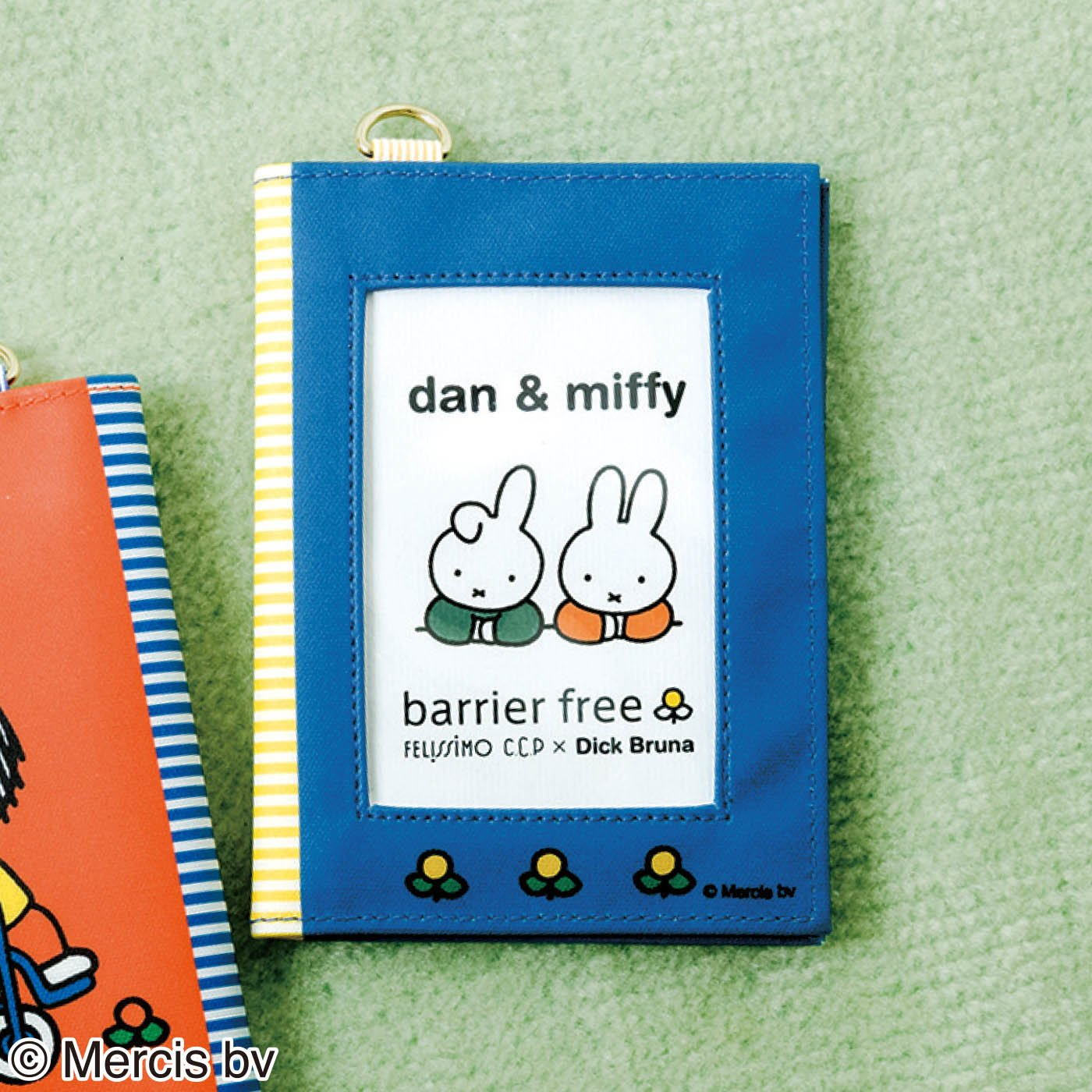 CCP×ディック・ブルーナ バリアフリー 両面窓の手帳ケース 〈ダーン&ミッフィー〉